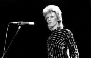 David Bowie statue
