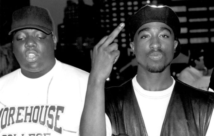 Notorious B.I.G. and Tupac