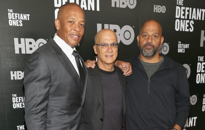 Dr Dre, Jimmy Iovine and Allen Hughes