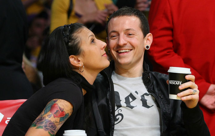 Talinda and Chester Bennington