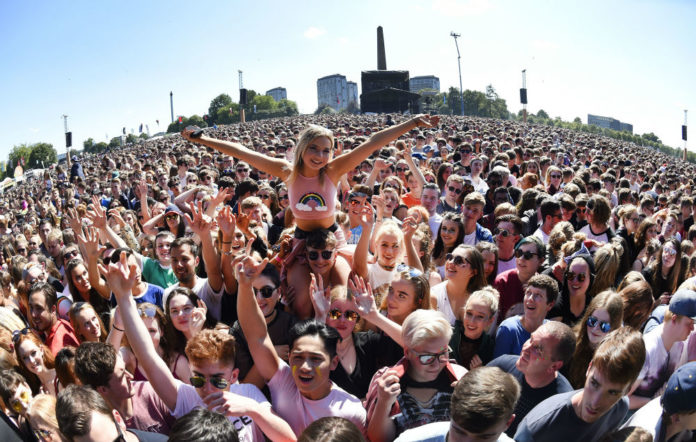 TRNSMT Festival crowd