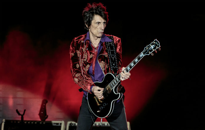 The Rolling Stones' Ronnie Wood