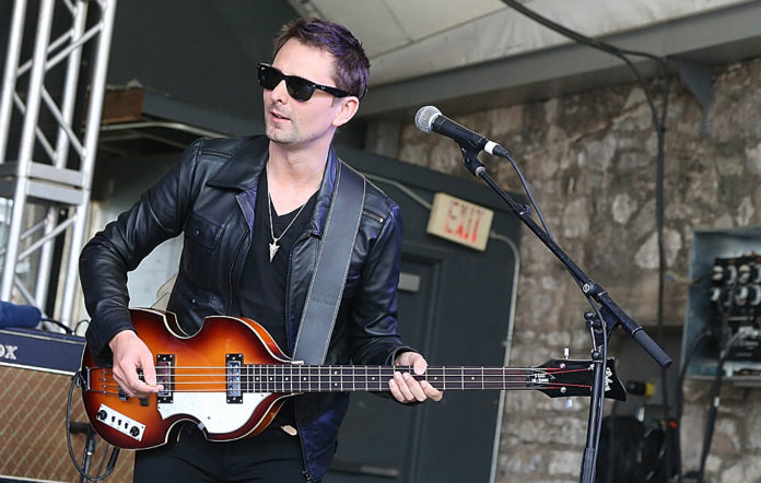 Matt Bellamy performs with Dr Pepper's Jaded Hearts Club Band