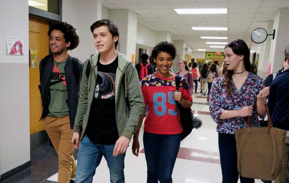 Love, Simon films set in school