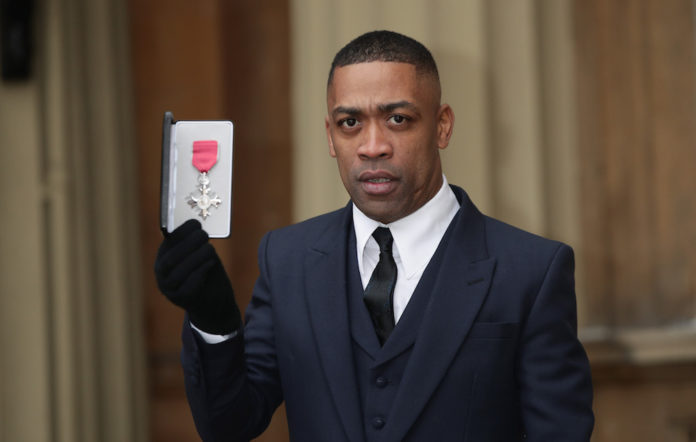 Wiley at the investitures at Buckingham Palace