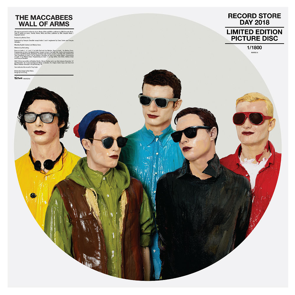 The Maccabees - 'Wall Of Arms' ltd edition picture disc for Record Store Day 2018