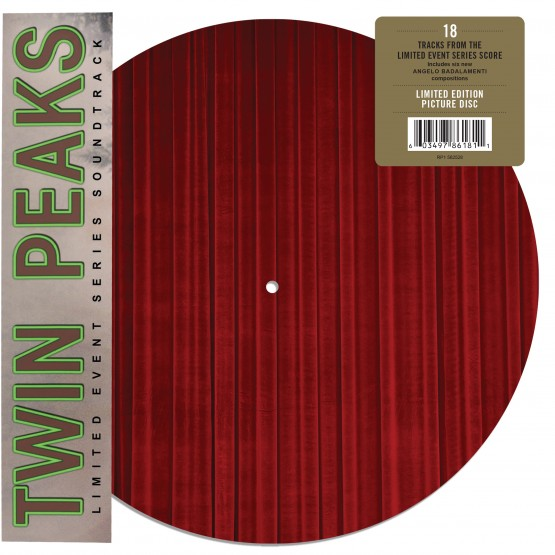 Twin Peaks soundtrack on picture disk for Record Store Day 2018