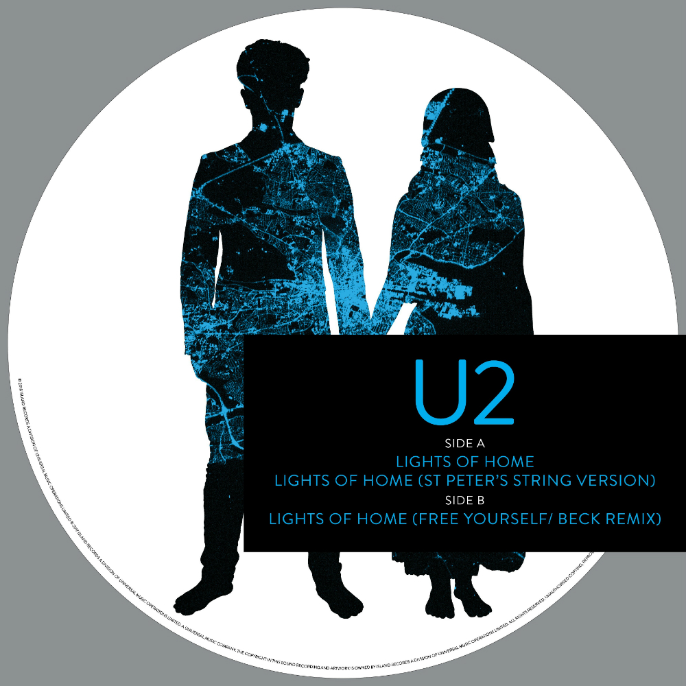 U2 - 'Lights Of Home' for Record Store Day 2018