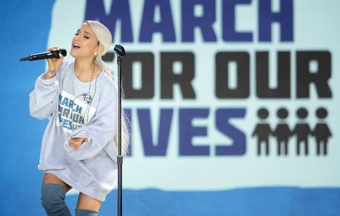 Ariana Grande, March For Our Lives