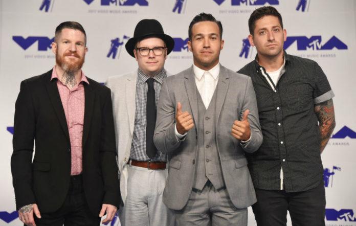 Fall Out Boy Joe Trohman UK tour
