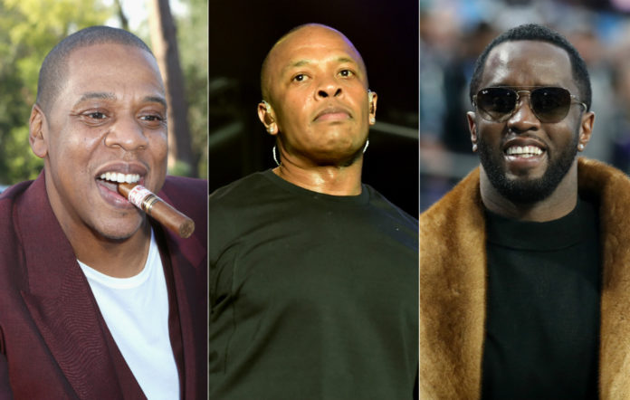 Jay-Z, Dre and Diddy