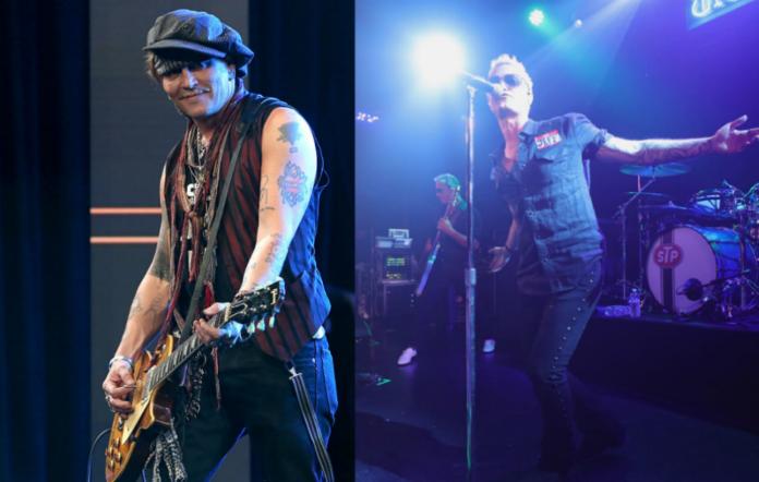 Johnny Depp / Stone Temple Pilots