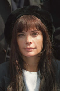 Marie Trintignant, pictured in 2000