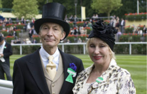 Charlie Watts and wife Shirley, pictured at Royal Ascot in 2009