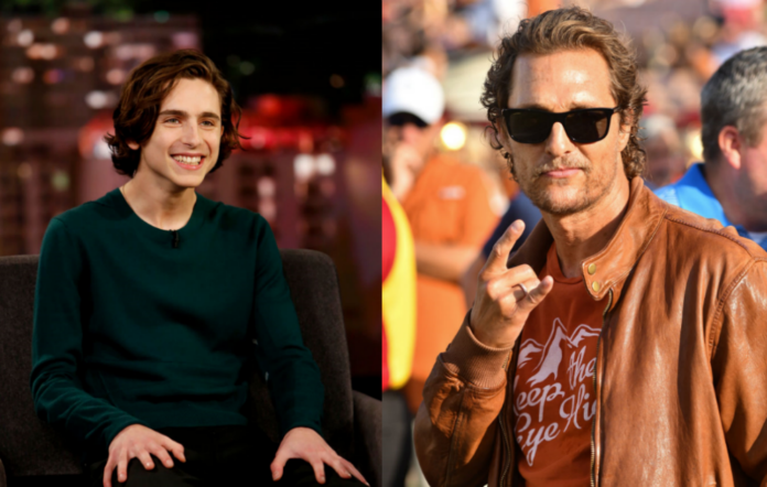 Timothée Chalamet / Matthew McConaughey