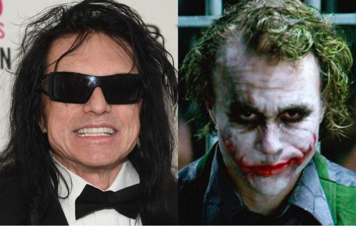 Tommy Wiseau and Heath Ledger's Joker