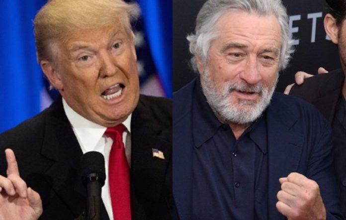 Donald Trump and Robert De Niro