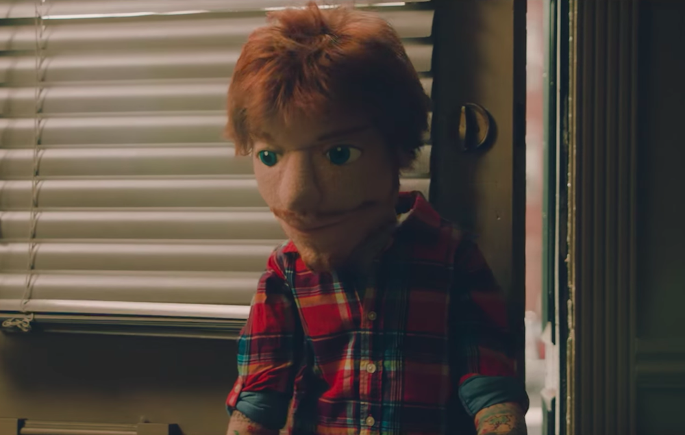 Ed Sheeran Is A Heartbroken Puppet In New Happier Video Nme