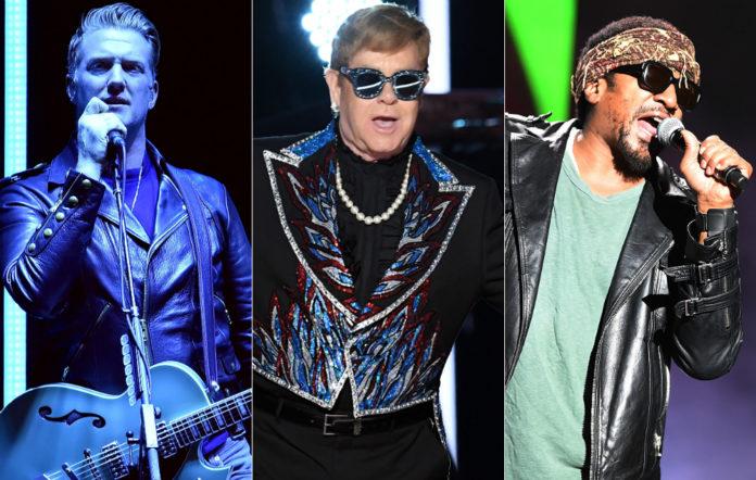 Josh Homme, Elton John and Q-Tip