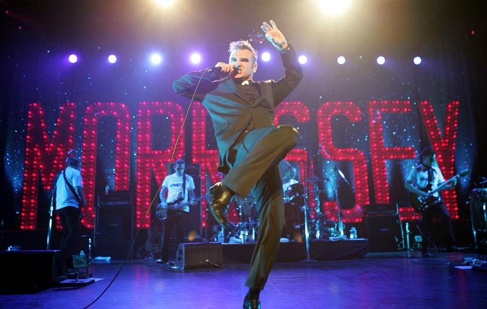 Morrissey live in 2004