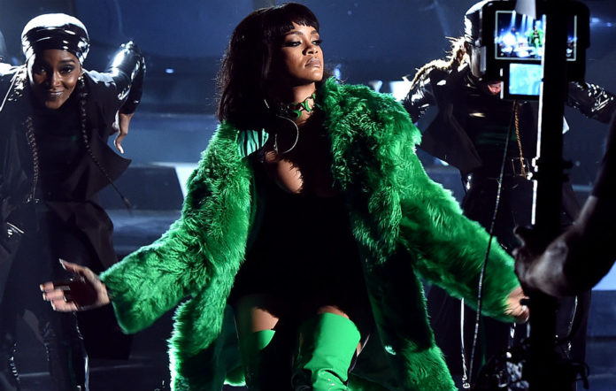 This is a photo of Rihanna