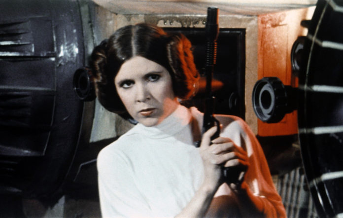 new Princess Leia
