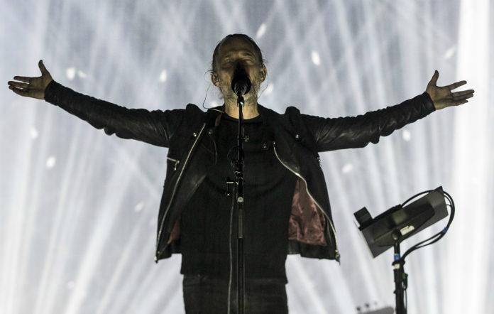 Radiohead's Thom Yorke live at NorthSide 2017