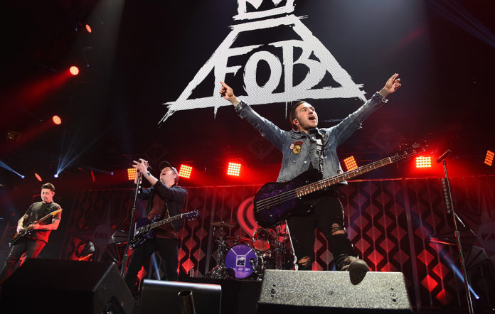 Fall Out Boy, live