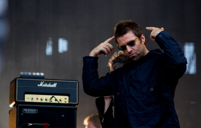 Liam Gallagher, live - 2018