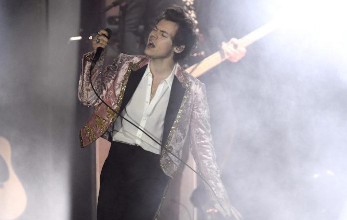 Harry Styles LGBTQ flag