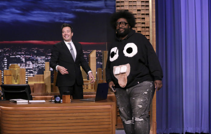 Jimmy Fallon and Questlove