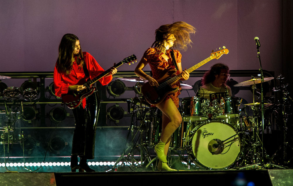 Haim cover Brandy and Monica at Seattle show