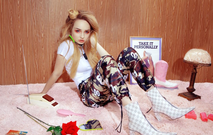 Kim Petras photographed by Charlotte Rutherford