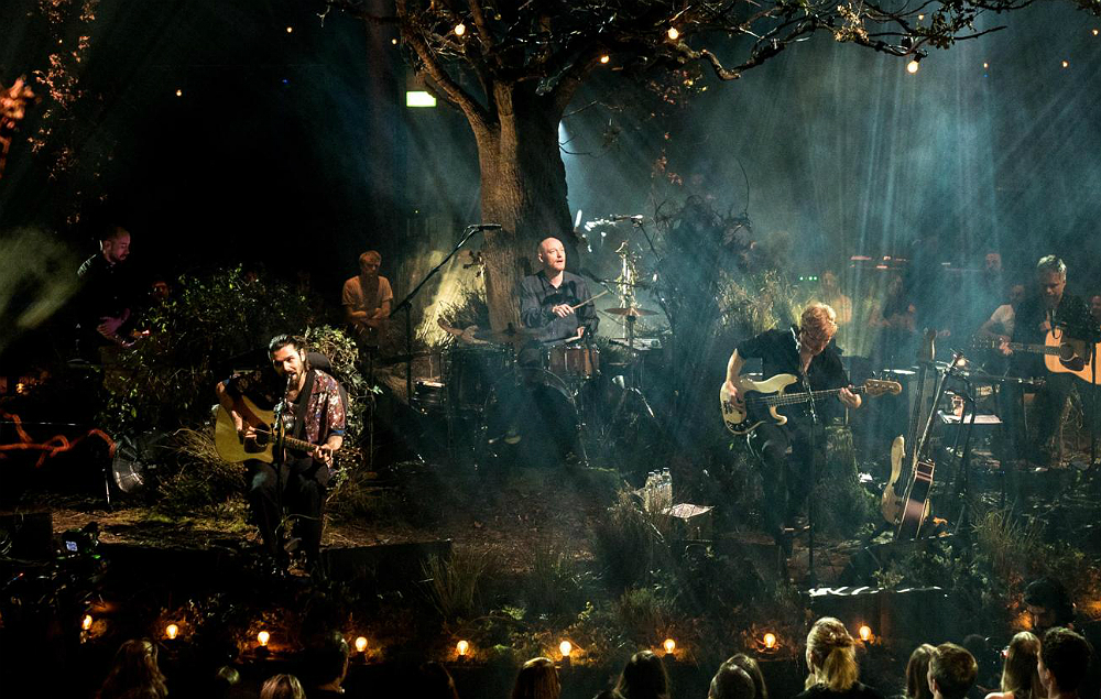 Biffy Clyro perform for 'MTV Unplugged'