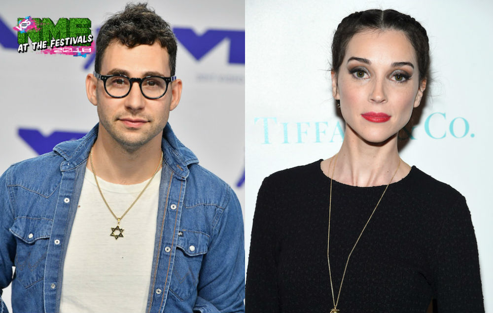 Watch Bleachers and St. Vincent cover Depeche Mode at Coachella 2018 | NME
