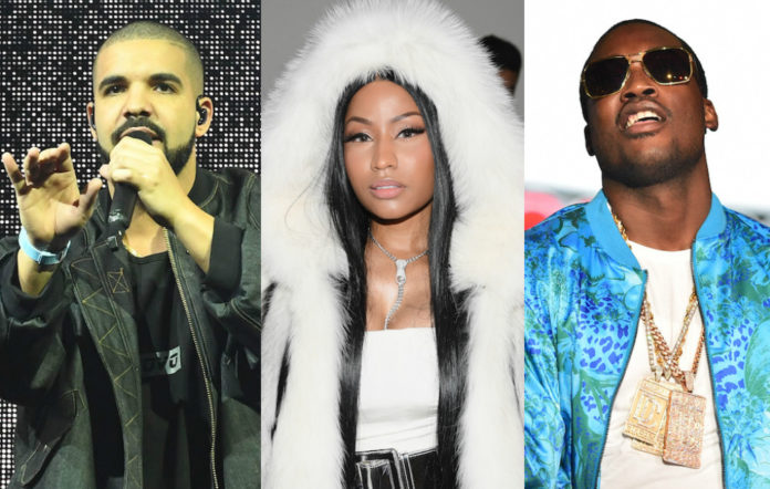 Nicki Minaj Drake Meek Mill