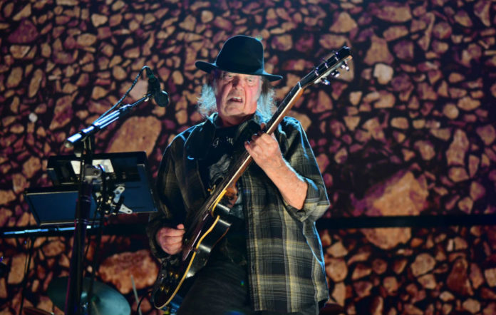 Neil Young peace trails video