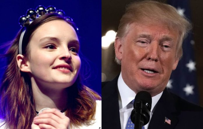 Chvrches on trump presidency