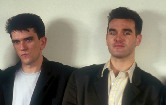 Mike Joyce and Morrissey in The Smiths