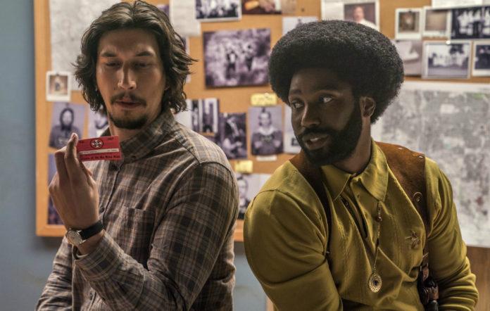 John David Washington and Adam Driver team up in first trailer for Spike Lee's 'BlacKkKlansman'