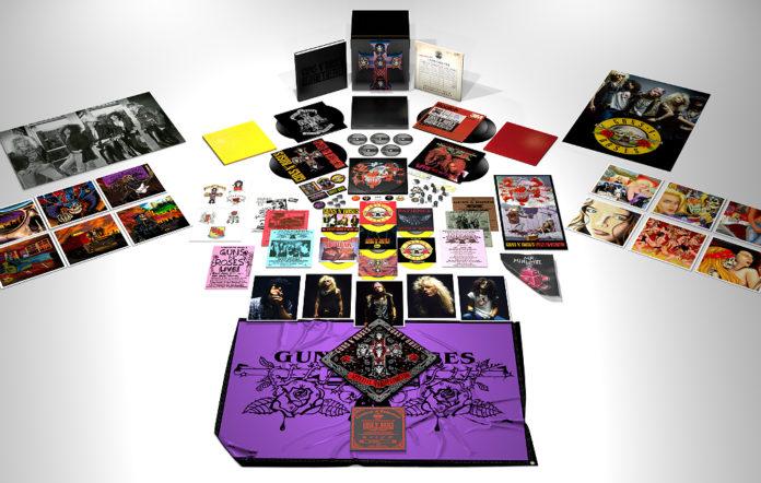 The deluxe reissue of Guns N' Roses 'Appetite For Destruction'