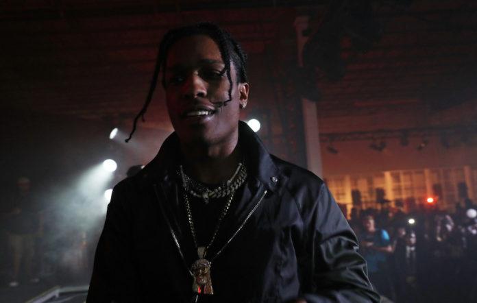 A$AP Rocky Testing party