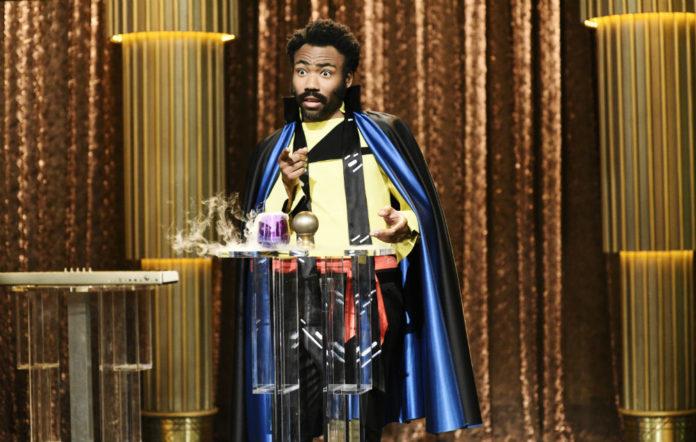Donald Glover as Lando Calrissian