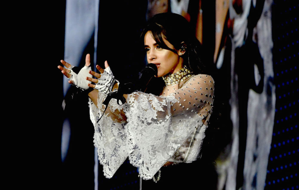 Camila Cabello performs in Arizona on the first date of supporting Taylor Swift on her Reputation world tour