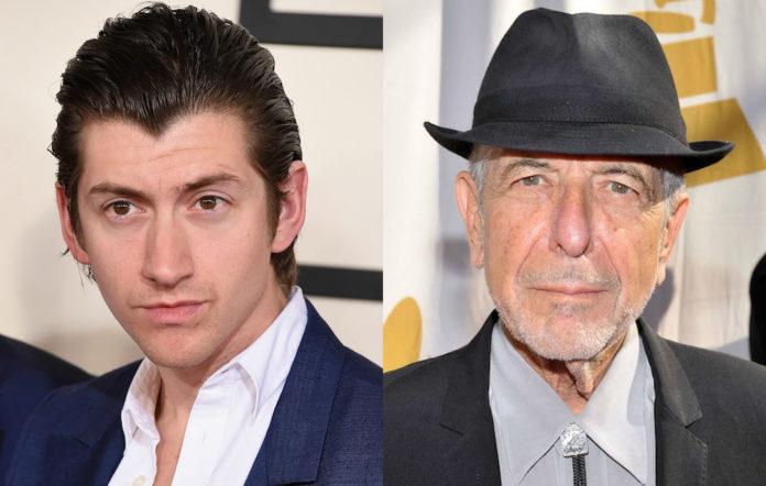 Alex Turner Leonard Cohen