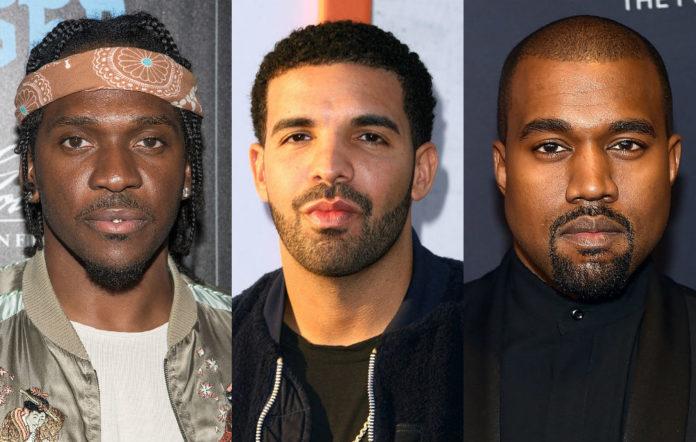 Drake diss track Pusha T Kanye West