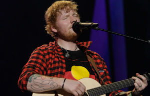 Ed Sheeran Manchester tour show