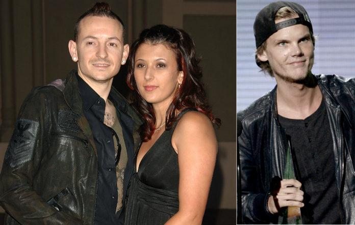 Chester and Talinda Bennington, Avicii