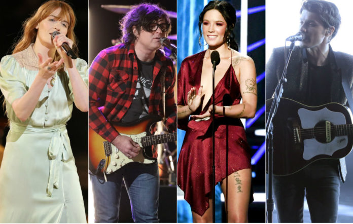 Florence + The Machine, Ryan Adams, Halsey and James Bay performed on 'The Voice' final