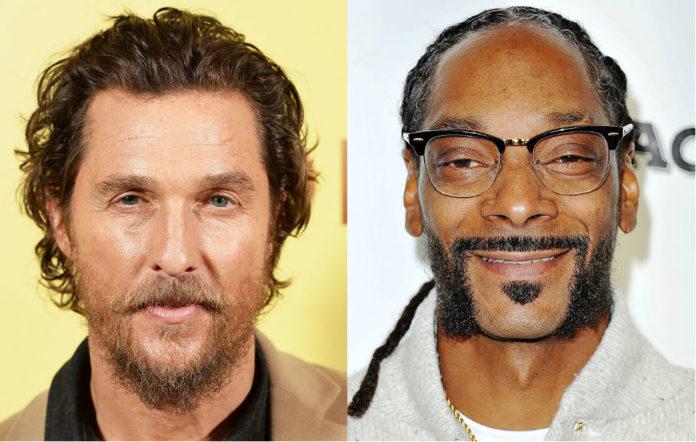matthew McConaughey snoop dogg fake weed
